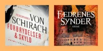 Gyldendal og Skriveforlaget står bag de bøger, du kan vinde.
