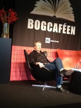 Jesper Stein fortalte om sin seneste krimi.