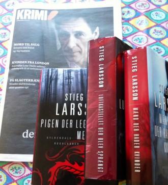 Manden på forsiden af Informations krimiavis 2015 er svenske David Lagercrantz. Manden, der har skrevet videre på Stieg Larssons manuskript og færdiggjort den fjerde Millennium-bog. 27. august udkommer bogen.