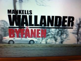 Jeg snuppede et afsnit af Wallander på Netflix i går efter nyheden om Henning Mankells død.