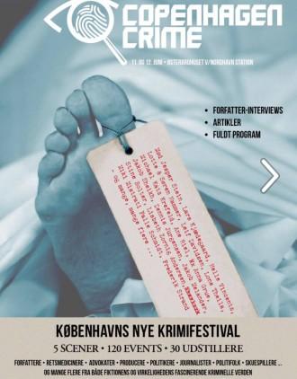 I Weekenden er der krimifestival i København for første gang. Copenhagen Crime hedder den.