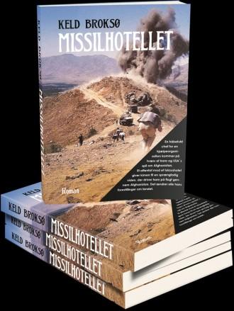 Søg Missilhotellet på YouTube. Så kan du høre forfatter Keld Broksø fortælle om sin bog.