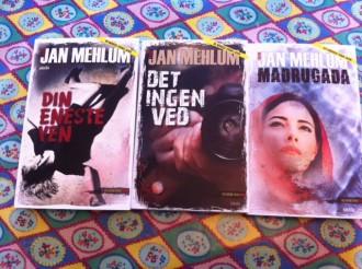 Forlaget Siesta udgiver en Jan Mehlum-krimi i både april, maj og juni.