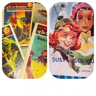 Hvad læste du, da du var barn/ung? Jeg elskede serien om De Tre Detektiver.