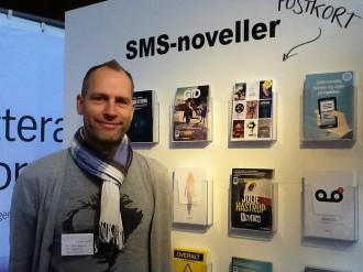 Kim Baasch fra SMSpress er glad for, at flere og flere får øjnene op for SMS-litteratur