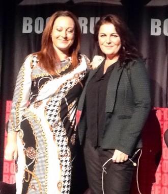 Stéphanie Surrugue interviewer Sara Blædel om den seneste Louise Rick-krimi.