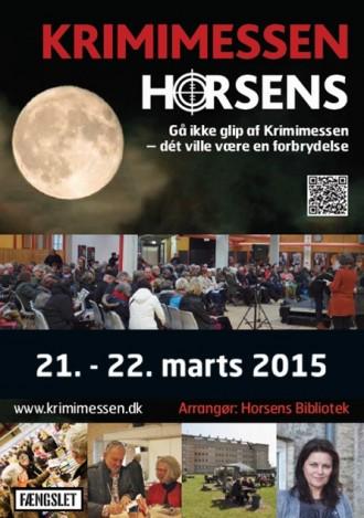Snup et program til Krimimessen i Horsens 2015 på biblioteket eller i din boghandel.