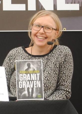 Pernille Boelskovs Granitgraven udkom i marts på Bornholm. Og sidst i april i resten af landet. Foto: Ellen Marie Andreasen