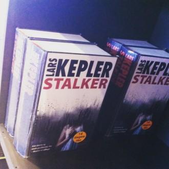 Bogryggene afslører, at Lars Keplers Stalker lånes flittig ud på Dokk1. Foto: Rebekka Andreasen