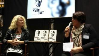 Fælles for Lotte Petris fire krimier er, at de ... Foto: Ellen Marie Andreasen