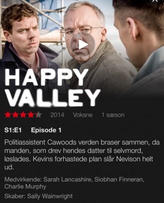 Spændende engelsk BBC-serie, som jeg varmt anbefaler.